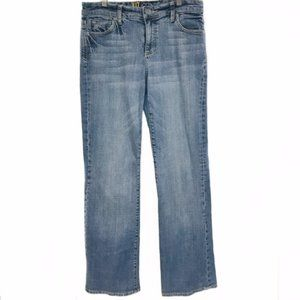 Kut from the Kloth light Wash Straight Leg Jeans
